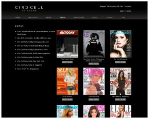 Circ-Cell Skincare - Press - 5D Spectrum