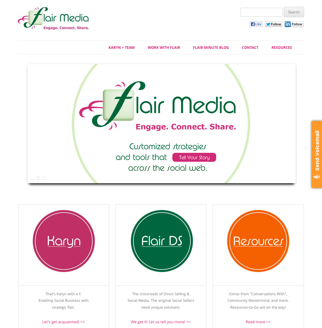 5D Spectrum Launches a New Website for Flair Media Marketing