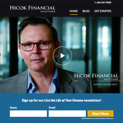 5D Branding - Hicok Financial Solutions