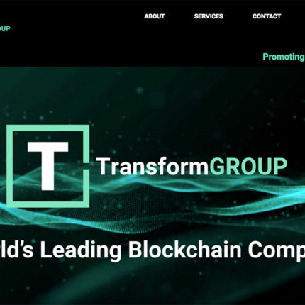 5D portfolio transform group web Home Page