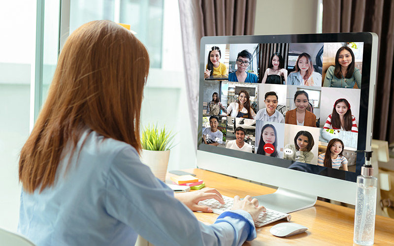 remote workforce strategy using video conferencing